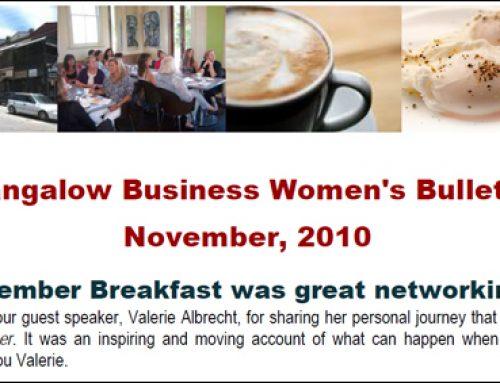 Bangalow Business Women's Breakfast NSW
