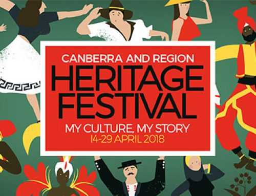 """ACT Heritage Festival """"Your Culture Your Life"""" Writing."""